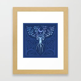 Tree of Ioannu Framed Art Print
