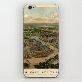 St. Louis Worlds Fair 1904 iPhone Skin