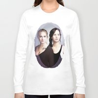 divergent Long Sleeve T-shirts featuring The Divergent Games by Clara J Aira