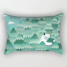 Tree Hugger (Spring & Summer version) Rectangular Pillow