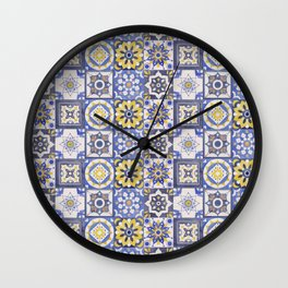 Talavera Ceramics Wall Clock
