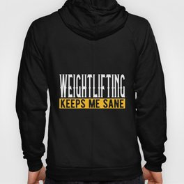 Weightlifting Lover Gift Idea Design Motif Hoody