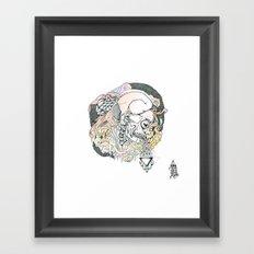 S ( he). Framed Art Print
