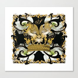 My Empire Collection Summer Set White Flowers Canvas Print