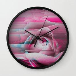 Rosa Rosae Wall Clock