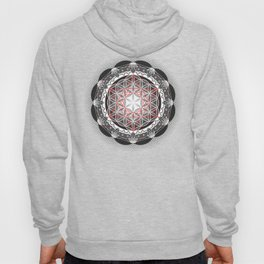 Flower of Life + Metatrons Cube Hoody