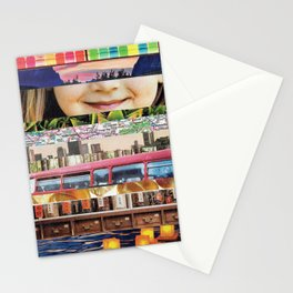 Collage - Untitled Stationery Cards