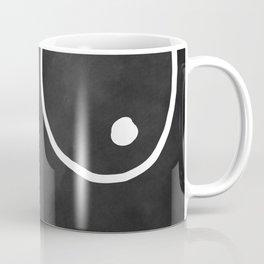 minimalist boobs Coffee Mug