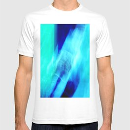 Blue & Blue (abstract) T-shirt