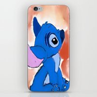 stitch iPhone & iPod Skins featuring STITCH  by Taylor Perren