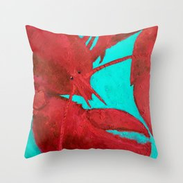Lobster, Claws for Celebration Throw Pillow