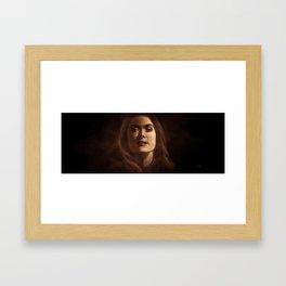 Strict Beauty Framed Art Print