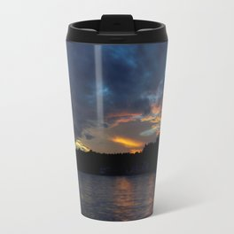 Sunset Panorama... Travel Mug