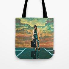 Electric sky Tote Bag