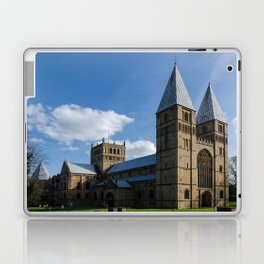 Southwell Minster - north west Laptop & iPad Skin
