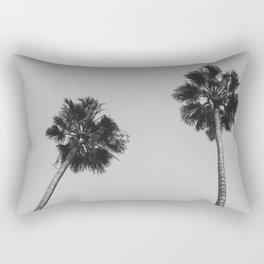 Palms Noir Rectangular Pillow