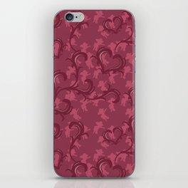 Angeli Rosso iPhone Skin