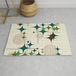 Starbursts and Globes 1 Rug