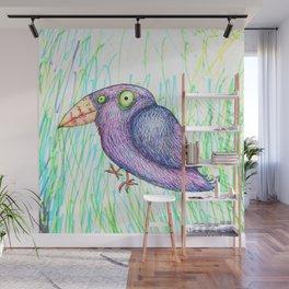 Funny bird Wall Mural