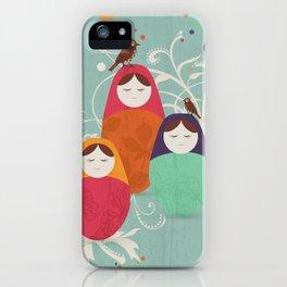 Matryoshka II iPhone Case
