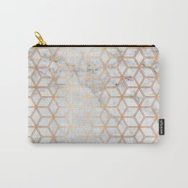 Hive Mind Marble Rose Gold #789 Carry-All Pouch