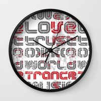 springsteen Wall Clocks featuring Trust in Trance Music by Sitchko