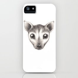 Spectacled Flying Fox iPhone Case