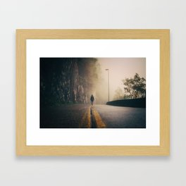 Walking Among Whispers Framed Art Print
