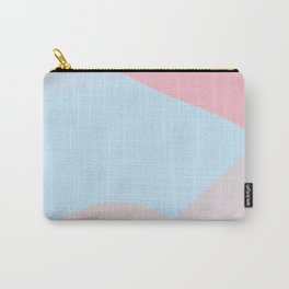 Semiternal soft pink and light blue Carry-All Pouch