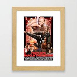 Fight City: Shaolin Throwdown (poster) Framed Art Print