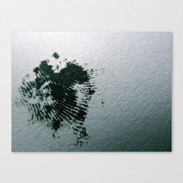 Ink Print Canvas Print