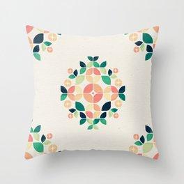 The Bouquet Throw Pillow