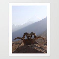 Kailash Death Art Print