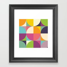 Quarters Quilt 4 Framed Art Print