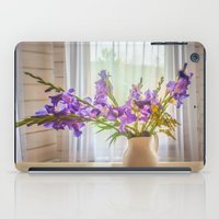 iris iPad Cases featuring Iris by Svetlana Korneliuk