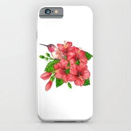 Tropical bouquet iPhone Case
