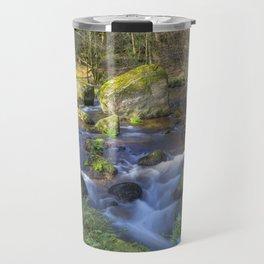 Becky Falls, Dartmoor. Travel Mug