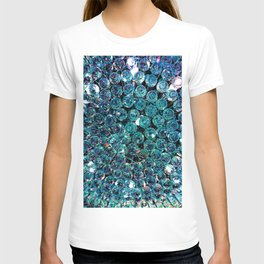 Turquoise Teal Crystals  T-shirt