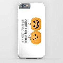 Pumpkin Botox iPhone Case