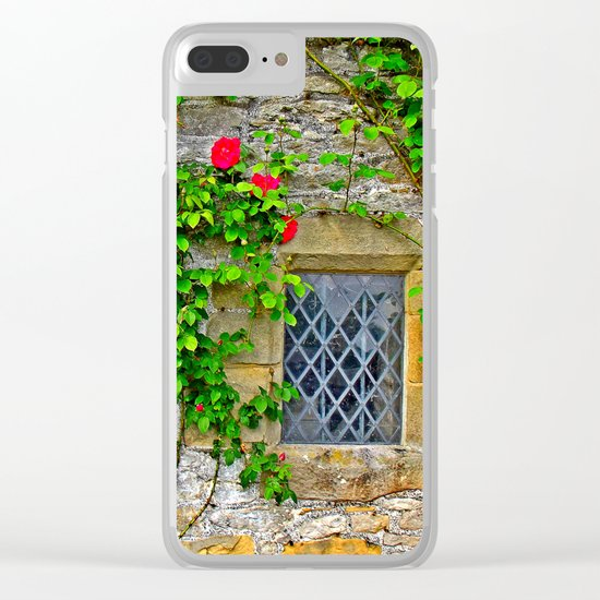 English Castle Clear iPhone Case