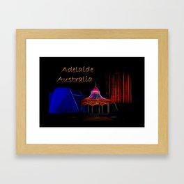 Electrified Adelaide Framed Art Print