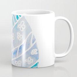 Easter Egg in Blue and Teal Coffee Mug
