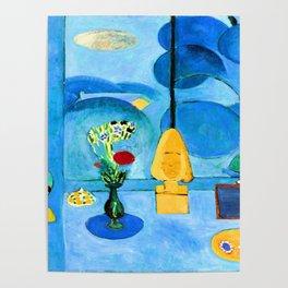 Henri Matisse Blue Window Poster