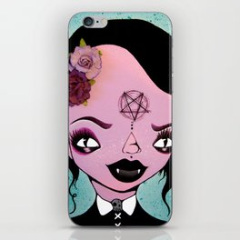 Vampire Girl iPhone Skin