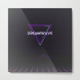 Dreamwave Aesthetic Metal Print