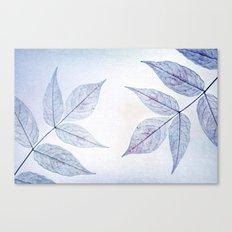 purple leafes Canvas Print