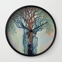 Family Tree Wall Clock
