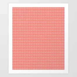 Coral on Coral Art Print