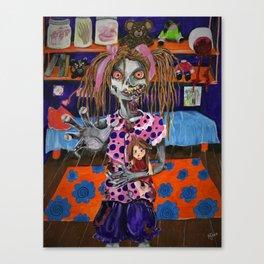 zombie tween Canvas Print