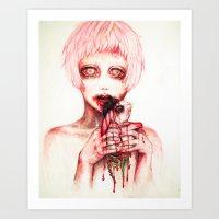 Hungry......... Art Print